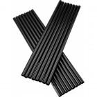 Vastag - Fekete szívószál 500 db/csomag
