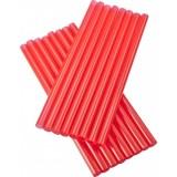 Vastag - Piros szívószál 500 db