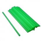 Vastag - Zöld szívószál 500 db