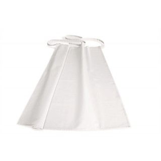 Pultos kötény V2 -  95x100 cm - fehér