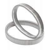 A002 - Ing rögzítő pánt - Exkluzív Silver