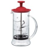 HARIO Coffee & Tea PRESS SLIM S RED 240ML