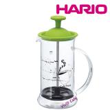 HARIO Coffee & Tea PRESS SLIM S GREEN 240ML