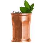 Julep Cup - Nyolcszögű - Urban Bar - 410ml - Copper