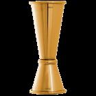 Jigger Ginza - 15/25/45/50ml - Gold - Urban Bar