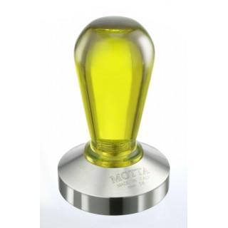 Tamper - Motta - Műanyag fogó - Sárga - 58 mm