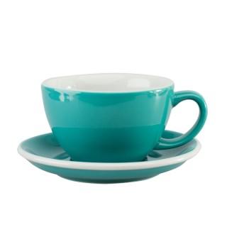 Loveramics Egg - Café Latte 300 ml - Kávéscsésze+Tányér - Türkiz