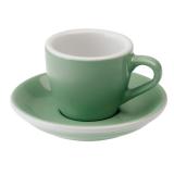 Loveramics Egg - Espresso 80 ml - Kávéscsésze+Tányér - Menta