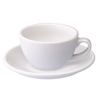 Loveramics Egg - Flat White 150 ml - Kávéscsésze+Tányér - Fehér