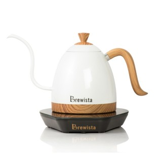 Brewista Artisan 600ml Gooseneck Variable Kettle - Korallfehér