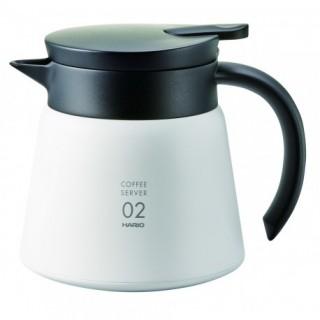 HARIO VHS-60B - Hőtartó Kávé Server - Fehér - 600 ml