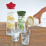 Hario Water Jug - Vizes palack - 1000 ml - Olíva