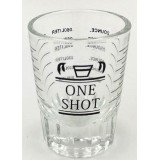 ONE SHOT - Barista Shot pohár - mlércézett - 10/60 ml