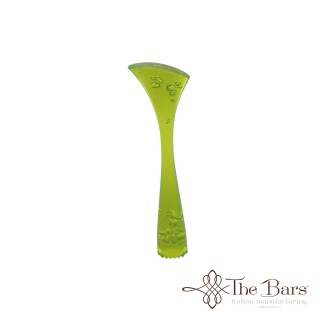 Muddler Ribbed Green Fluorescent - The Bars