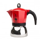Moka Pot - Bialetti Moka Induction 6TZ - Piros