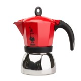 MOKA POT - BIALETTI MOKA INDUCTION 3TZ - Piros