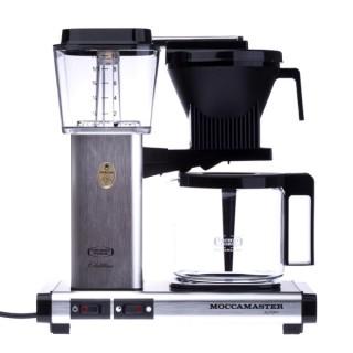 MOCCAMASTER KBG 741 AO - Brushed Aluminium - Filteres Kávéfőző
