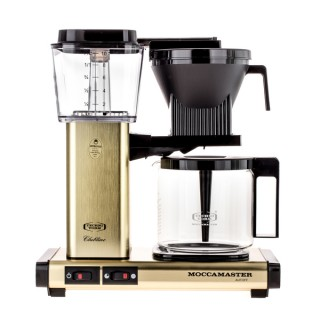 MOCCAMASTER KBG 741 AO - Csizolt Sárgaréz - Filteres Kávéfőző
