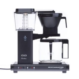 MOCCAMASTER KBG 741 AO - Matt Fekete - Filteres Kávéfőző