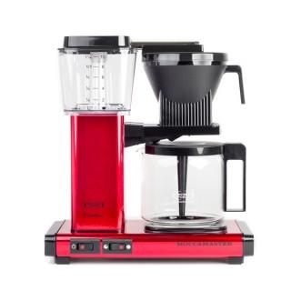 MOCCAMASTER KBG 741 AO - Metalizált Piros - Filteres Kávéfőző