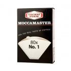 Moccamaster filter - 1-es méret - 80 db.
