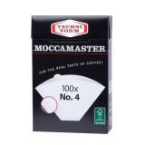 Moccamaster filter - 4-es méret - 100 db.