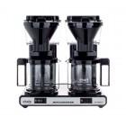 MOCCAMASTER KBG 744 AO - DUPLA - Fekete - Filteres Kávéfőző