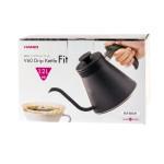 HARIO V60 Coffee drip kettle 'Fit' 1200ml - Fekete