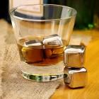 Whiskey Stones 4db - Inox