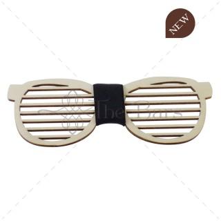 PA02.5 - Fa csokornyakkendő - Napszemüveg