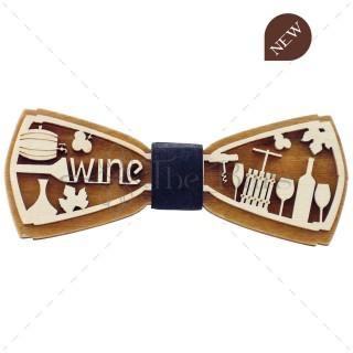 PA01.14 - Fa csokornyakkendő - 3D Wine