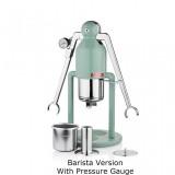 CAFELAT - Robot - Barista - Nyomásmérő kávéfőző - Retro Green