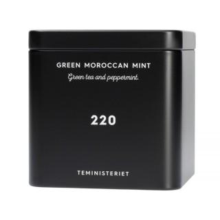 TEMINISTERIET - 220 GREEN MOROCCAN MINT - LOOSE TEA 100G