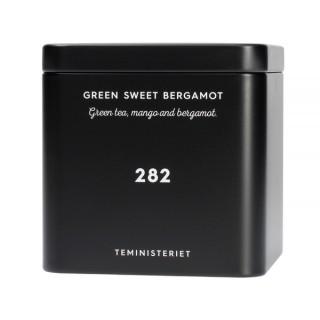 TEMINISTERIET - 282 GREEN SWEET BERGAMOT - LOOSE TEA 100G