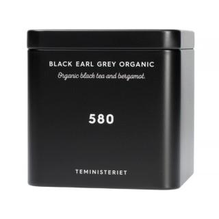 TEMINISTERIET - 580 BLACK EARL GREY ORGANIC - LOOSE TEA 50G