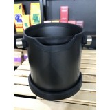 Knock Box Deluxe Round  - Ø 17 cm - Black