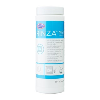 Urnex Rinza Tablets - Milk frothier cleaning tablets - 120 tablets