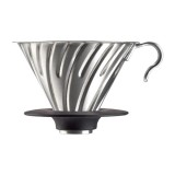 Hario V60-02 Steel dripper with silicone base