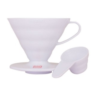 HARIO Coffee Dripper V60 01 Fehér - műanyag