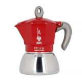 Moka Pot - Bialetti Moka Induction 4TZ - Piros