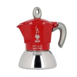 Moka Pot - Bialetti Moka Induction 2TZ - Piros