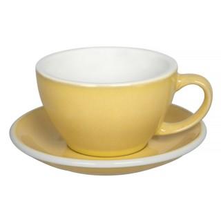 Loveramics Egg - Café Latte 300 ml - Kávéscsésze+Tányér - Butter Cup