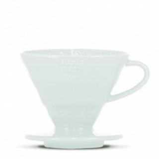 Hario Ceramic Dripper V60-02 LIGHT BLUE + 40 fehér papírfilter