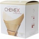 CHEMEX BARNA papírfilter - KOCKA - 100db.