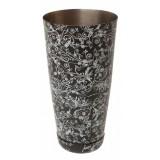Mixing Tin - Floral Black
