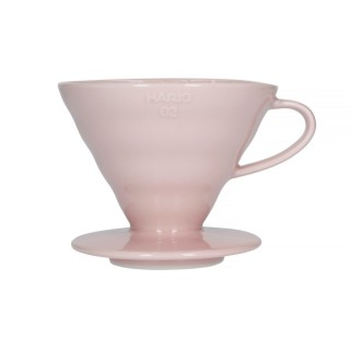 Hario V60-02 Ceramic Coffee Dripper Pink