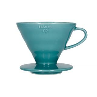Hario V60-02 Ceramic Coffee Dripper Turquoise Green
