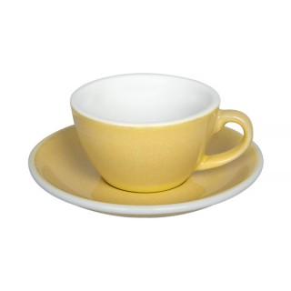 Loveramics Egg - Flat White 150 ml - Kávéscsésze+Tányér - Butter Cup