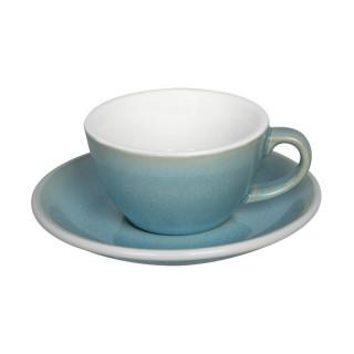 Loveramics Egg - Flat White 150 ml - Kávéscsésze+Tányér - Ice Blue