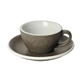 Loveramics Egg - Flat White 150 ml - Kávéscsésze+Tányér - Granite